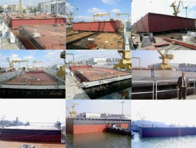 Golcuk Pontoon-Ship Building and Steel Process