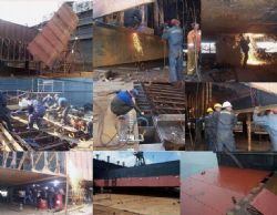 Mersin Pontoon Maintenance-Ship Building and Steel Process