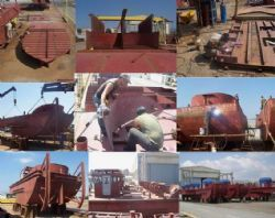 Izmir Tugboat Building-Ship Building and Steel Process